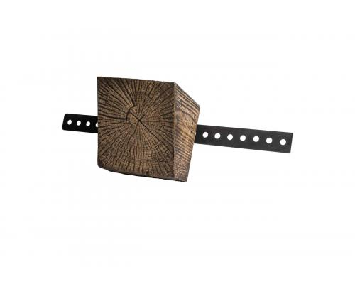 Brown Wood Bracket - Front